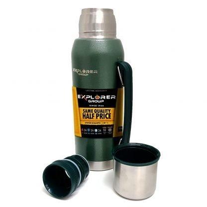 termo acero explorer 1 litro con tapon matero