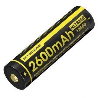 Batería Recargable Nitecore USB NL1826R