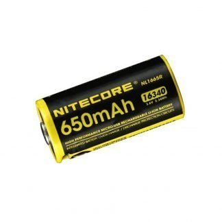 Batería Recargable Nitecore USB NL1665R