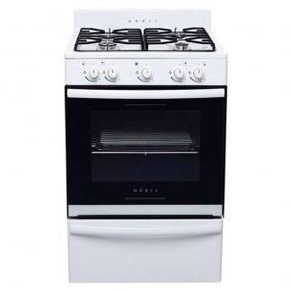 Cocina Orbis 4 Hornallas Acero Inoxidable 838BC2