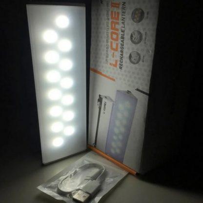 Linterna Luz de Emergencia Kovea Recargable Usb 14 Leds 600 Lúmenes