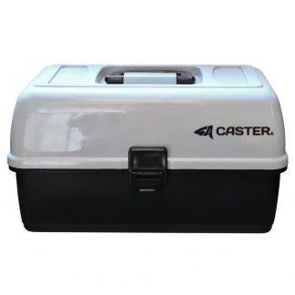 Caja de Pesca Caster 3 Bandejas 12 Dvisiones Ajustables